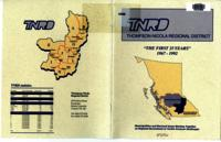TNRD Thompson-Nicola Regional District The First 25 Years 1967-1992