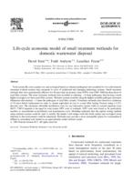Life-cycle economic model of small treatment wetlands for domestic wastewater disposal
