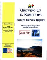Growing up in Kamloops Parent Survey Report