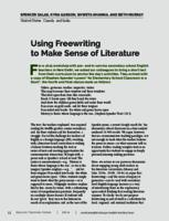 Using Freewriting to Make Sense of Literature