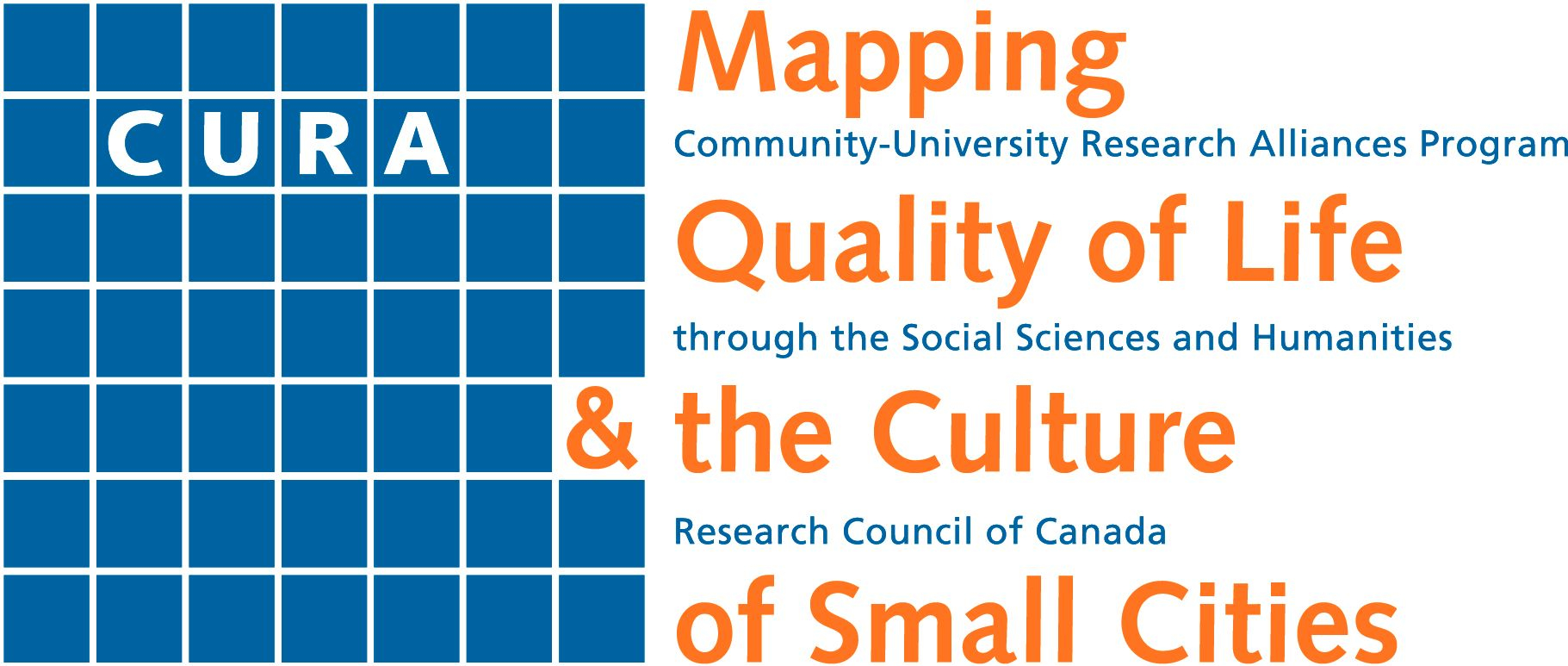 CURA: Mapping Quality of Life & the Culture of Small Cities